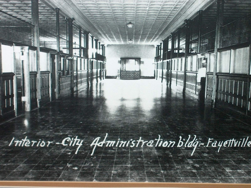 Fayetteville City Administration Building- BEFORE