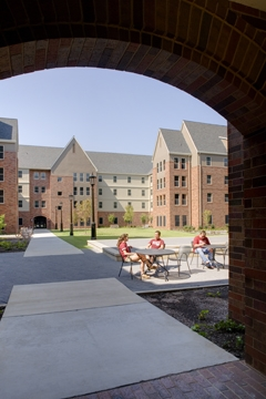 University of Arkasnas Maple Hill Residence Hall