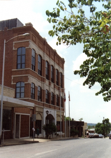 Fayetteville City Administration Building - The old Masonic Lodge