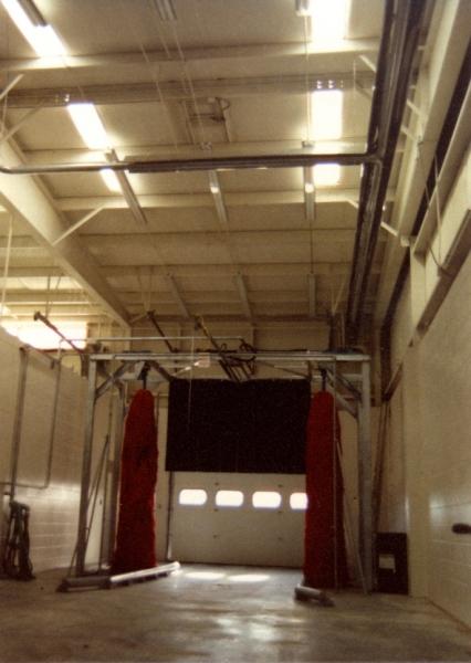 University of Arkansas Bus Maintenance Facility