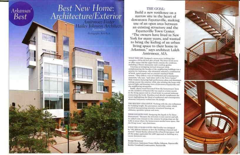 Best Designed Home Award Architecture Interior Design Firms Fayetteville Ar